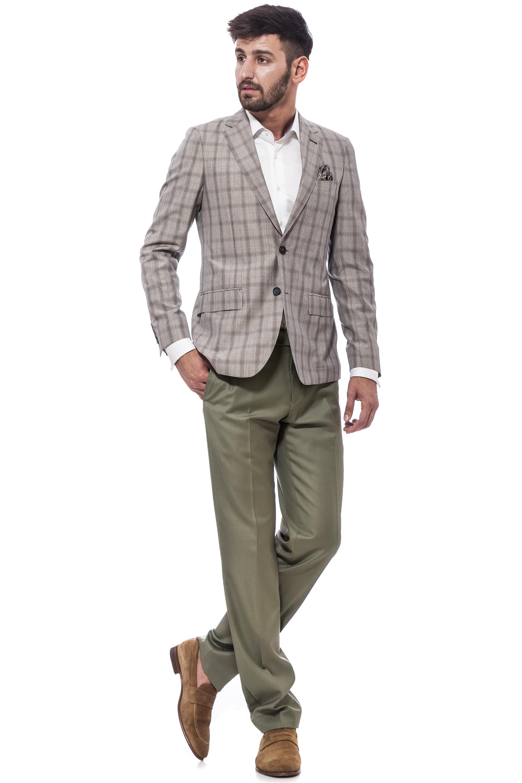 Casual suit, beige blazer, green pants| Suits | Suits | Custom ...