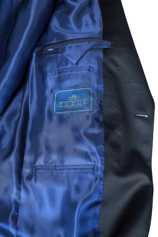Costum Chester Albastru din Lana