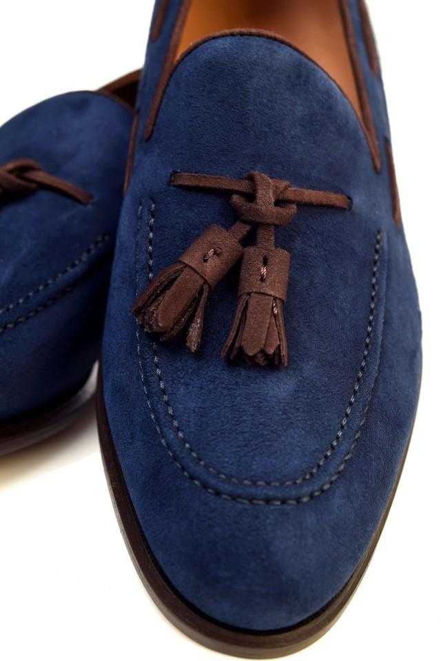 Pantofi suede Loafers Leighton