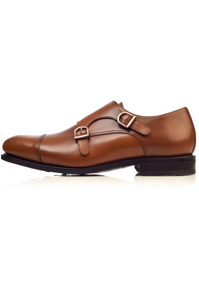 Pantofi Double Monk Strap Willis