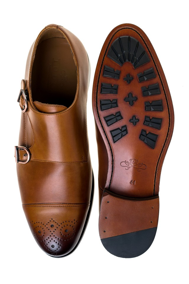 Pantofi Double Monk Merlin