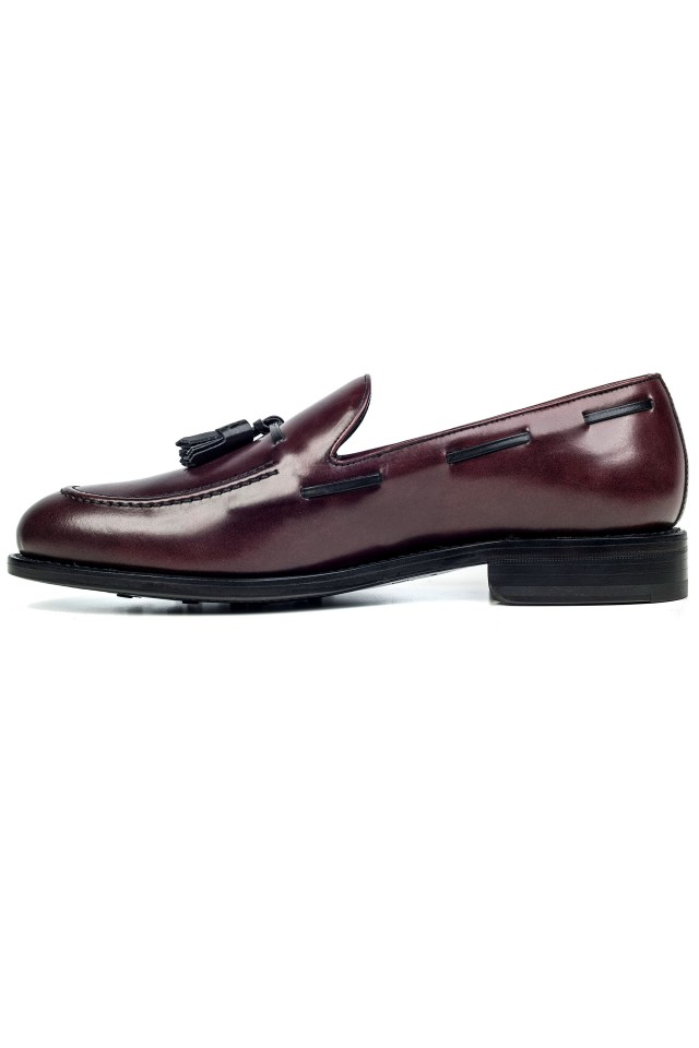 Loafer Tassel Bordo