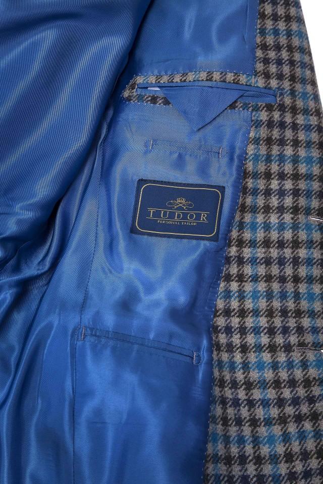 Costum Himilton Bleu Albastru din Lana