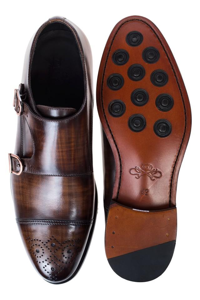 Pantofi Double Monk Galahad