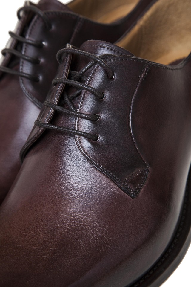 Pantofi Derby Dark Brown