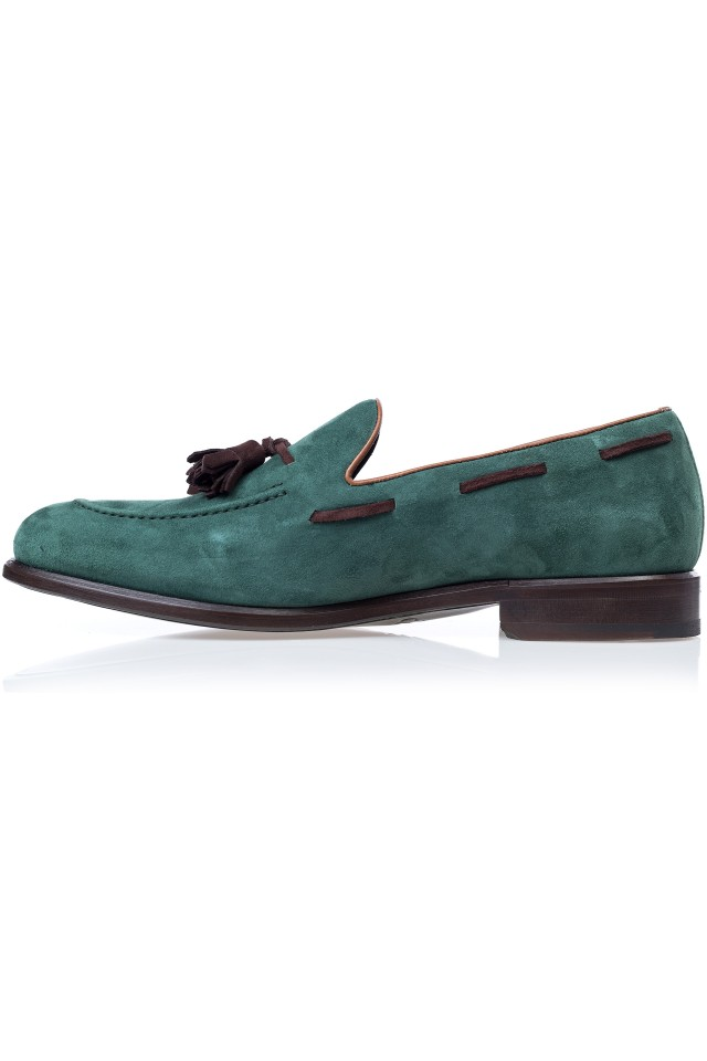 Pantofi Suede Kay Loafer