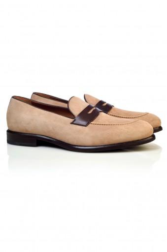 Pantofi Suede Loafers Harvey
