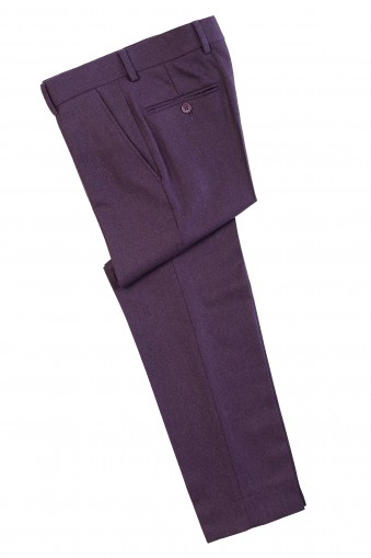 Pantalon Flannel Dean Mov din Lana
