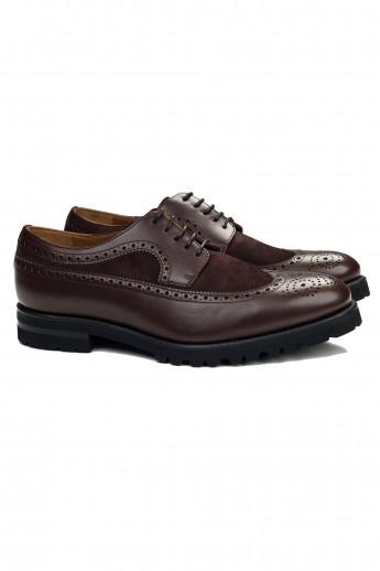 Pantofi Derby Brown