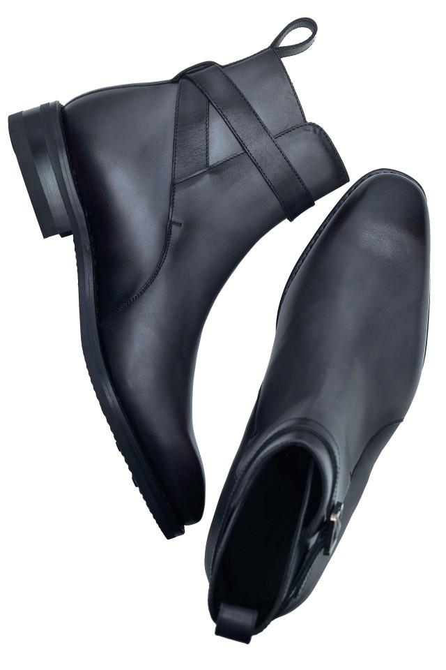 Grey Jodhpur Boots