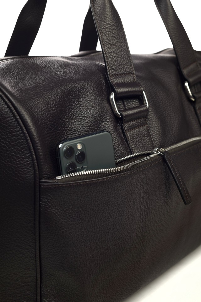 Tudor Travel Black Bag