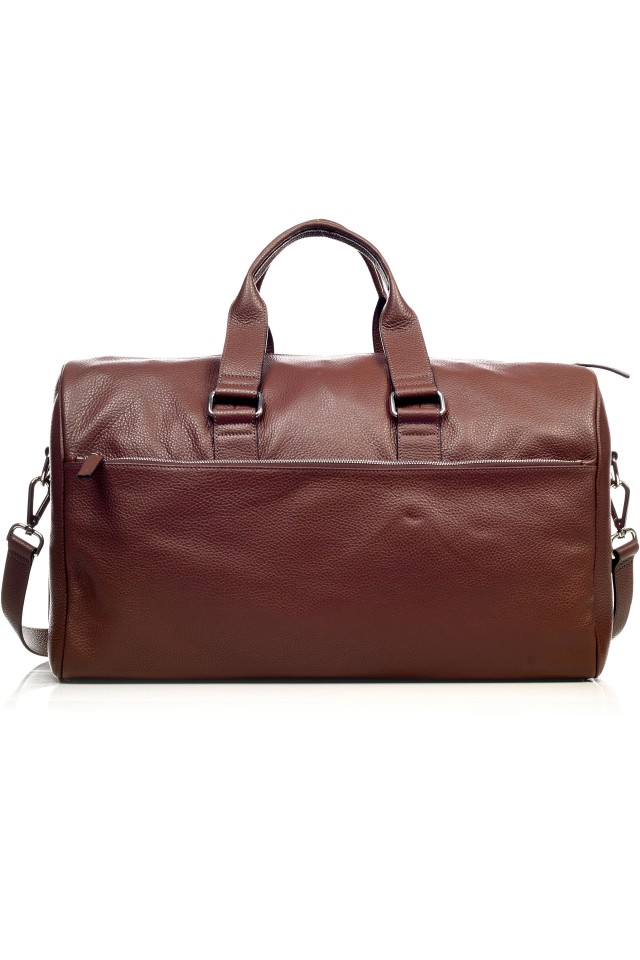 Tudor Travel Burgundy Bag