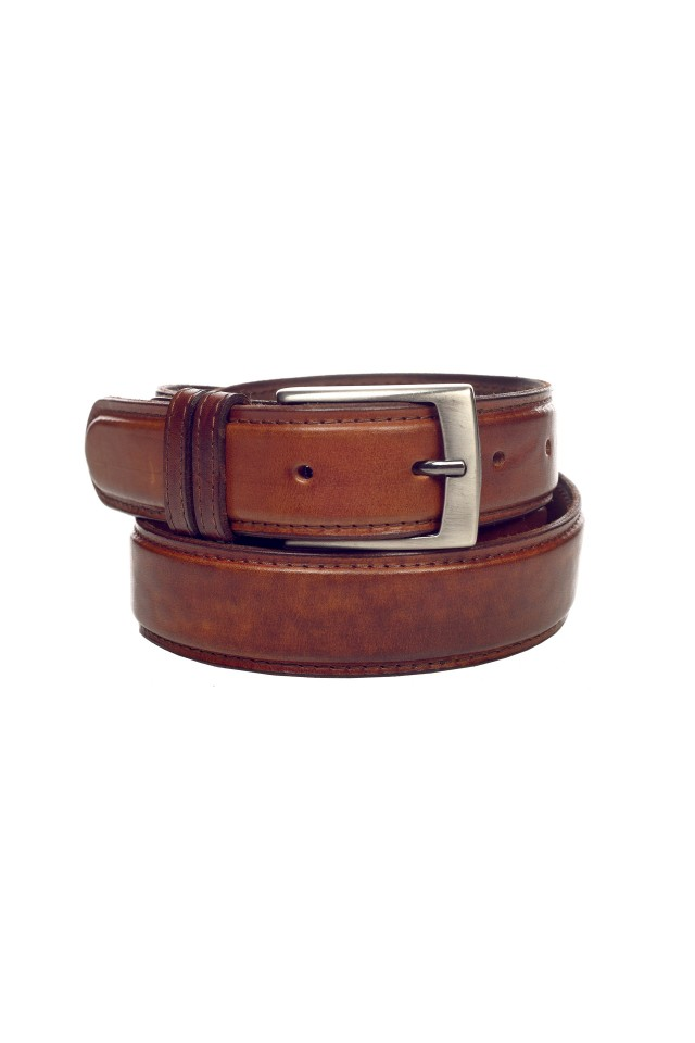 Avery Dark Brown Belt