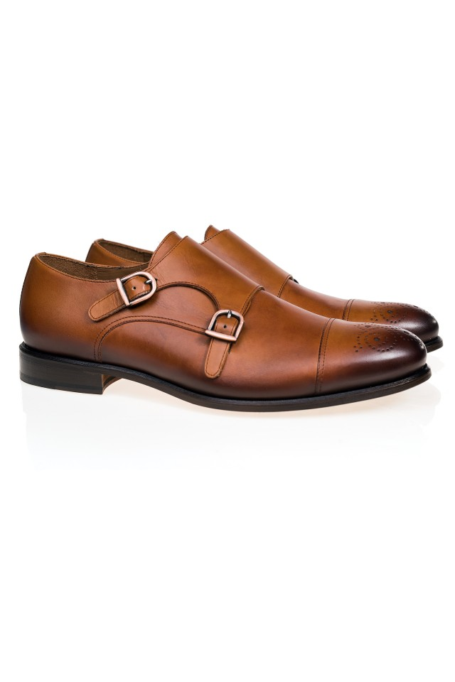 Double Monk Merlin Shoes