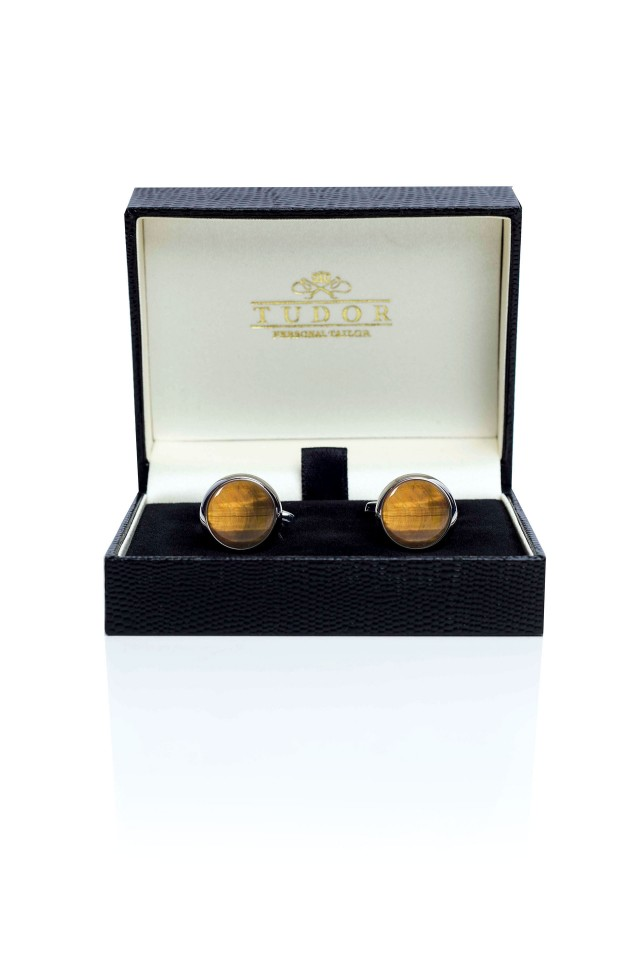 Tiger Eye Cufflinks