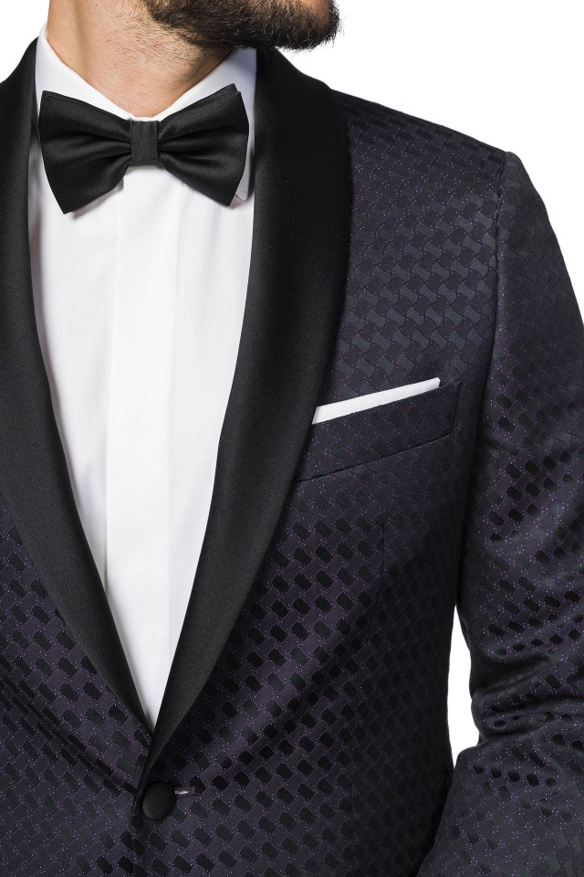 Emeritus Purple Ceremony Suit