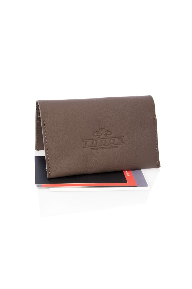 Tudor Brown Portcard