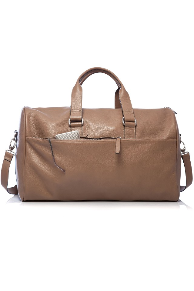 Tudor Travel Beige Bag