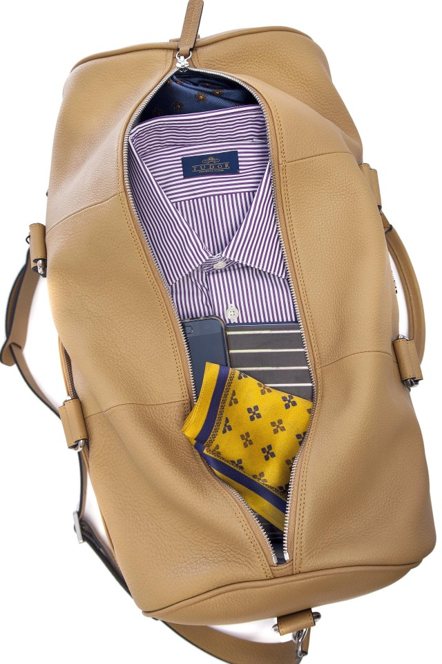 Tudor Travel Yellow Bag