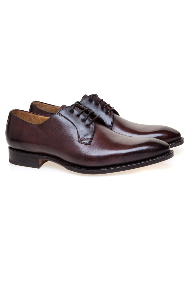 Derby Dark Brown Shoes