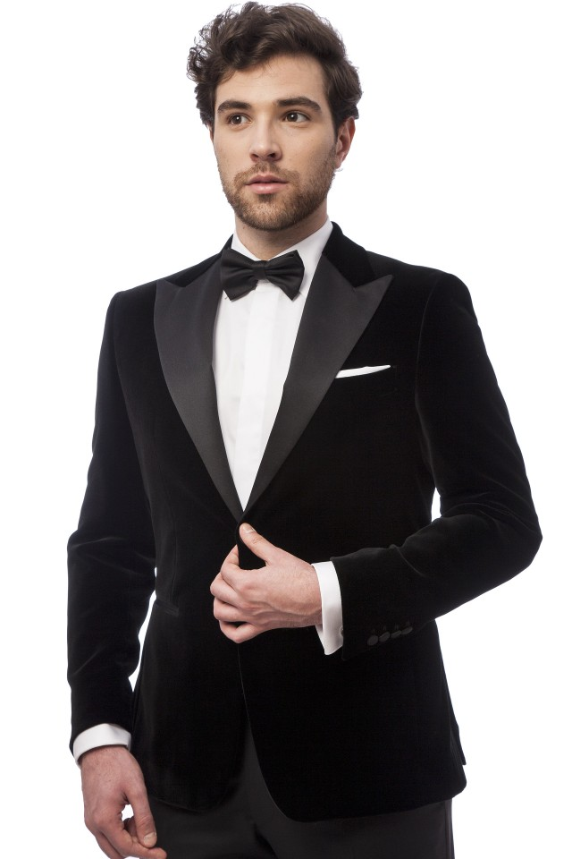 Aidan Black Suit