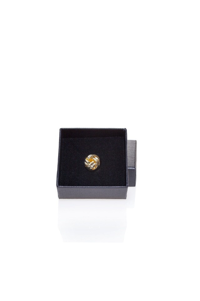 Conrad Gold Lapel Pin