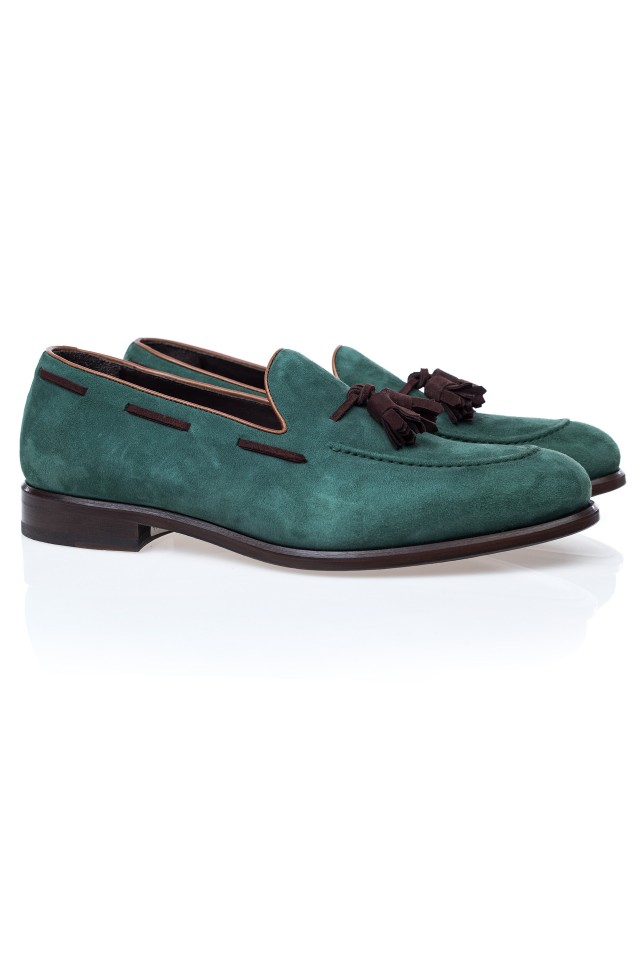 Kay Suede Loafer Shoes
