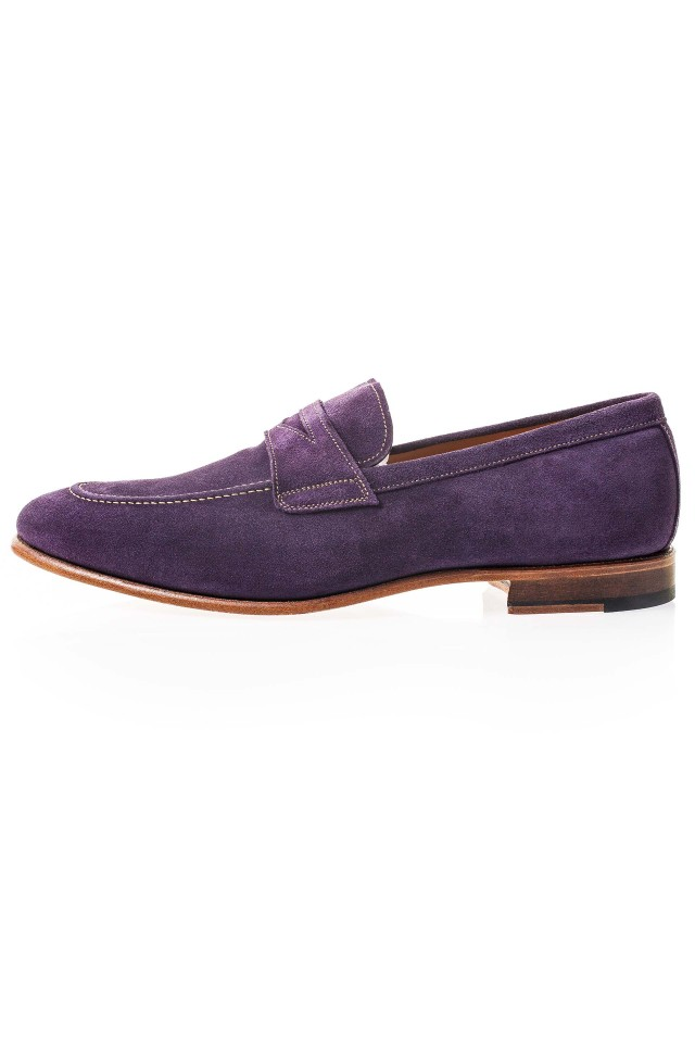 Prugna Suede Loafer Shoes