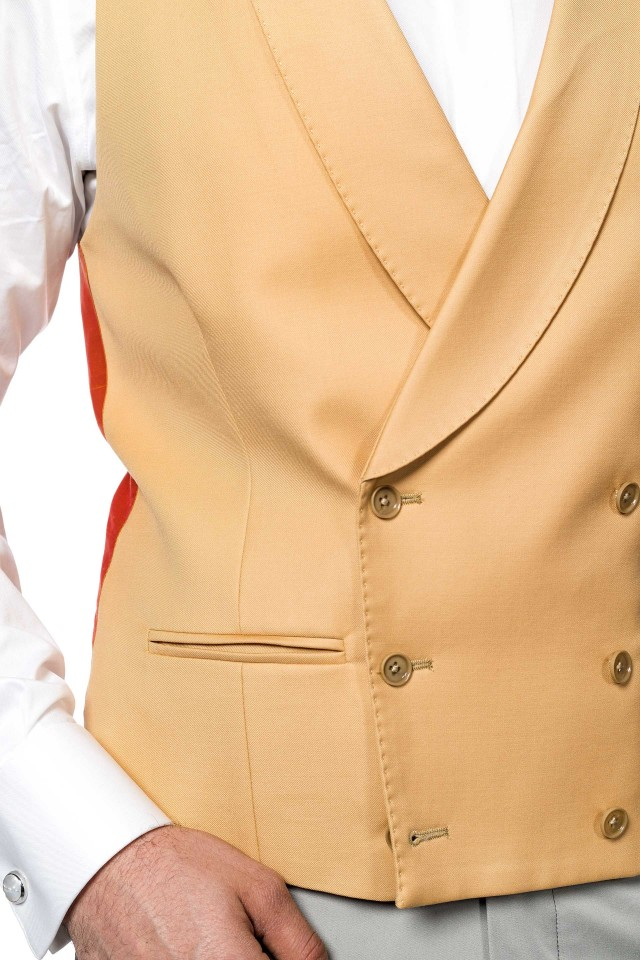 Tangerine Waistcoat
