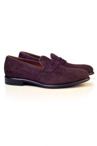 suede loafers Harris Shoes
