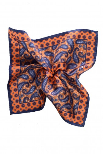 Lily Pocket Square