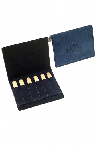 Blue Collar stays Case + 3 sets of brass stays