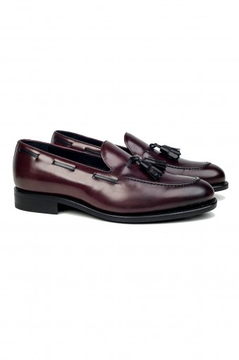 Loafer Tassel Burgundy