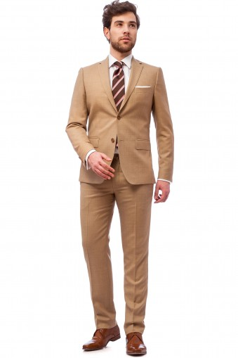 Grover Light Brown Suit