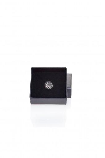 Conrad Silver Lapel Pin
