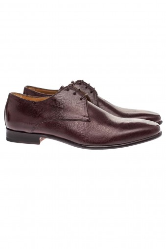 Etrusco Caviar Derby Shoes