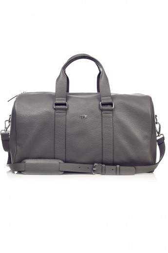 Tudor Travel Gray Bag