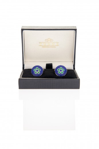 Abbot Green Cufflinks
