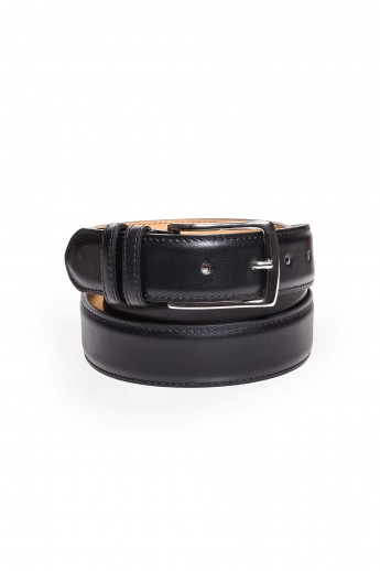 Dustin Black Calf Belt