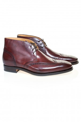 Full-Brogue Barolo Boots