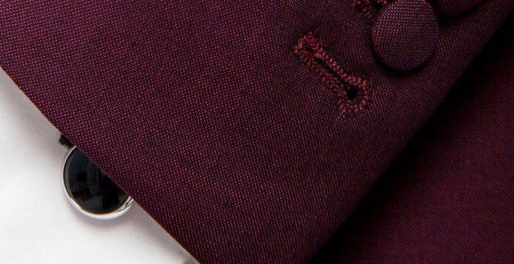 The cufflinks shirt