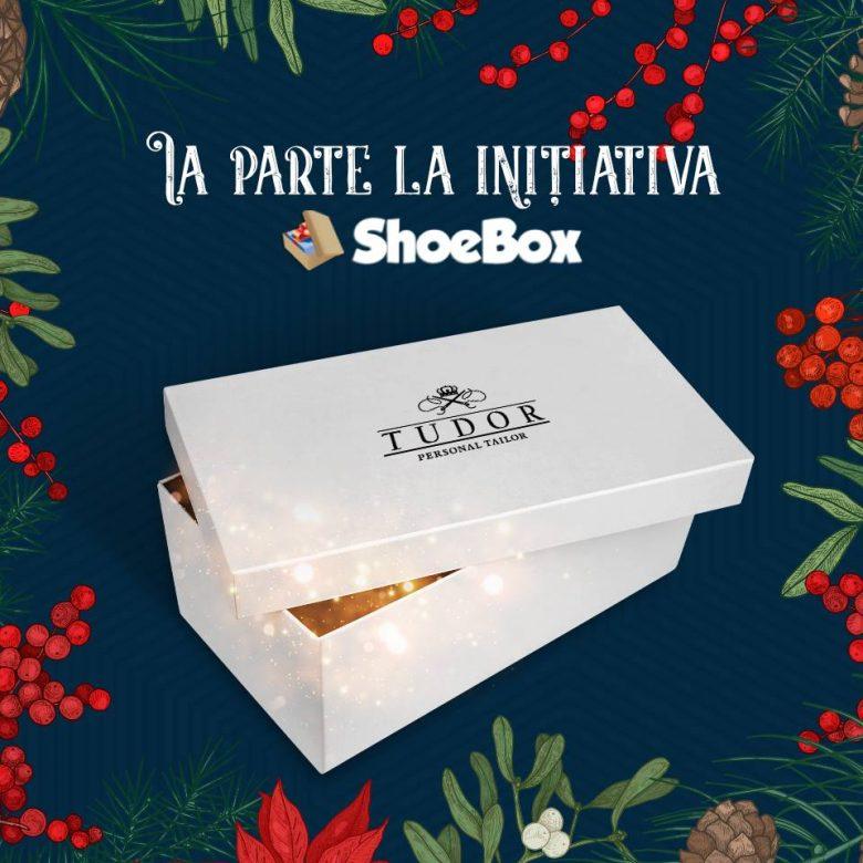 Cum poti dona prin TUDOR TAILOR cadouri pentru copiii defavorizati: alatura-te campaniei SHOEBOX - Cadoul din cutia de pantofi