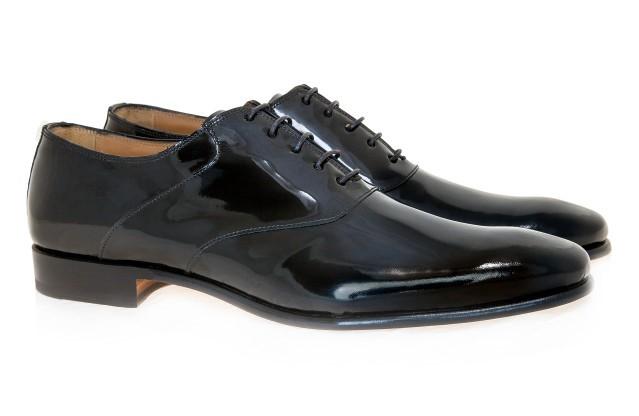 19-Pantofi Oxford cu piele lacuita