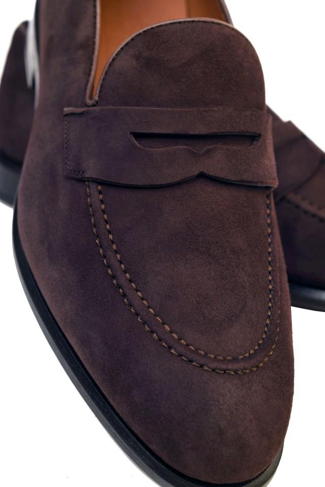 Pantofi Loafers pentru barbati potriviti pentru nunta de vara