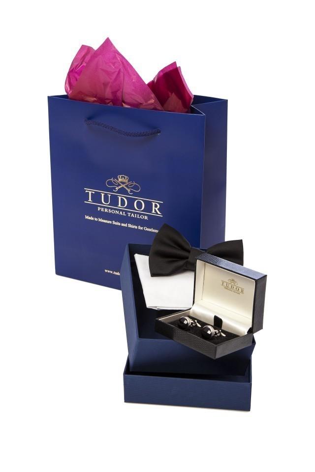 Cadou pentru barbatii eleganti - set accesorii black tie