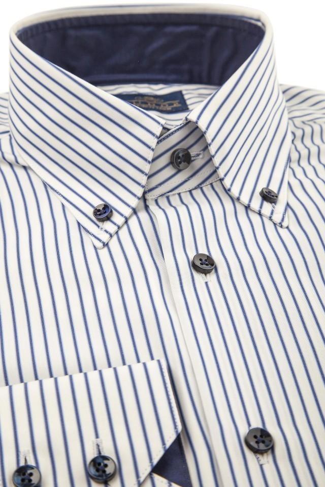 Camasa business-casual in dungi Tudor Tailor