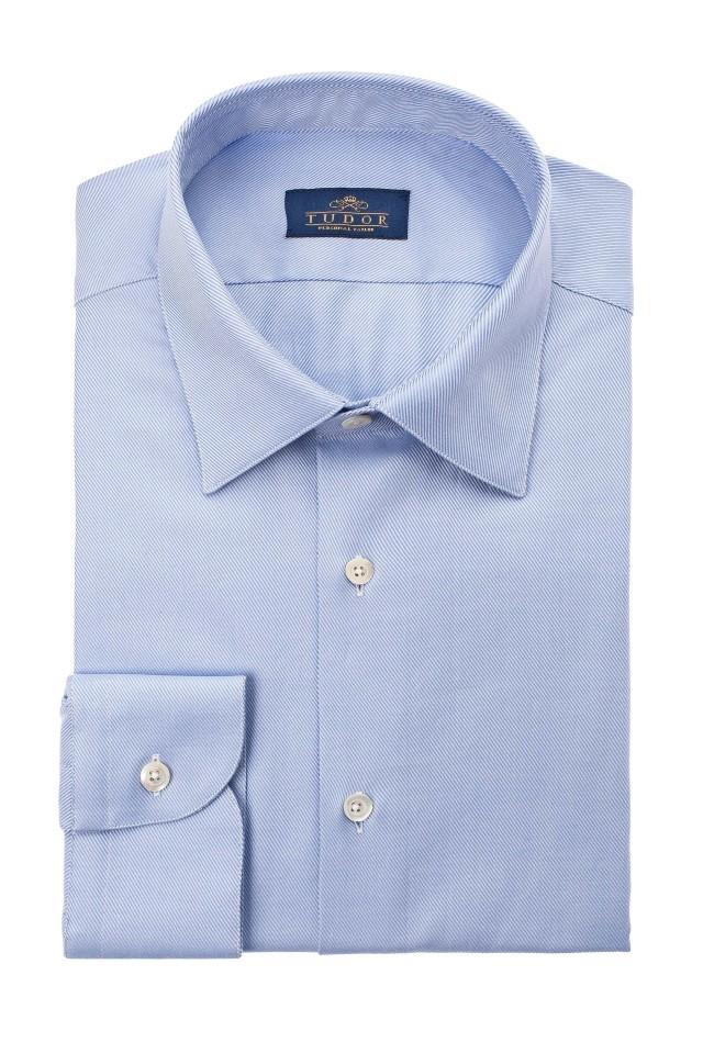Camasa elliot albastra business casual pentru barbati