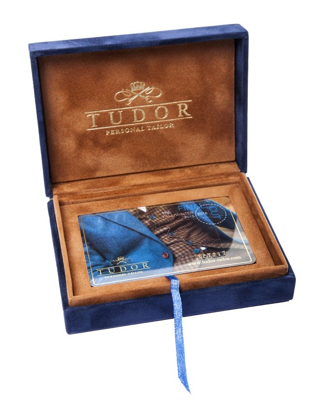 Card cadou pentru barbati, de Craciun, de la Tudor Tailor