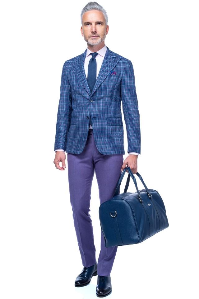 Costum Kos business casual pentru barbatii eleganti, primavara-vara
