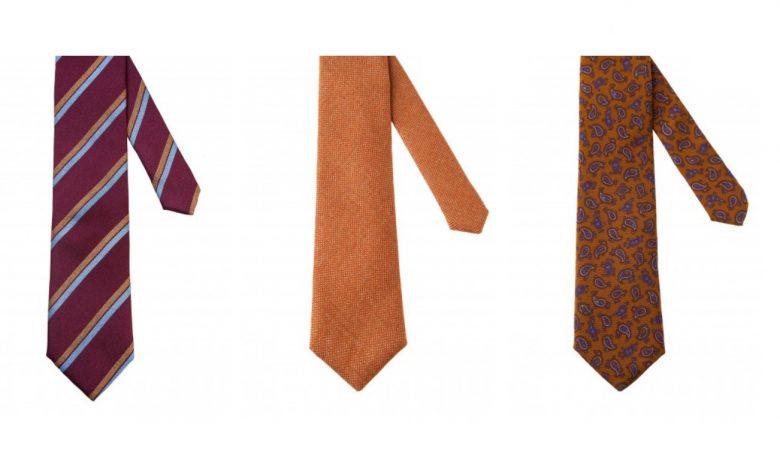 Cravate business pentru costume barbatesti Tudor Tailor